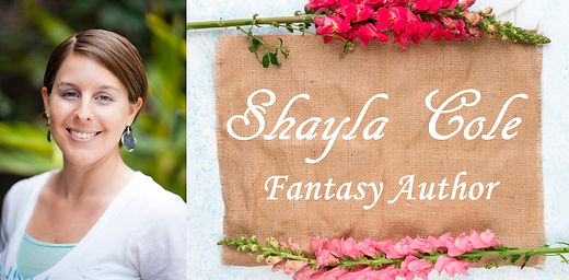 Shayla Cole headshot with header linen f