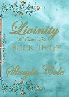 Mock Cover for Livinity Book Three