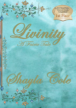 Mock Cover for Livinity with First Place RPLA award