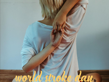 World Stroke Day – October 29th