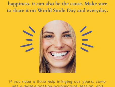 World Smile Day: The Healing Power of Your Smile