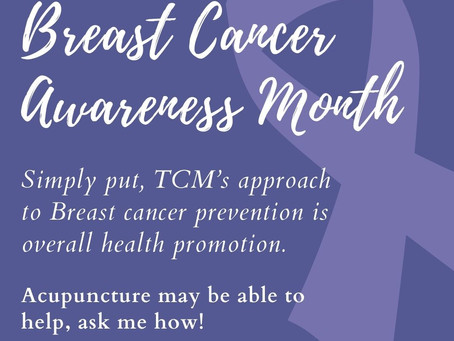 Breast Cancer Awareness Month: Tips from Traditional Medicine