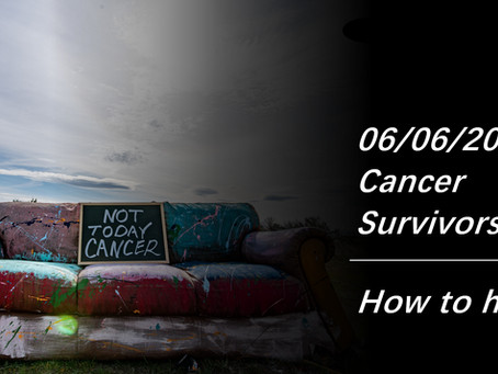 6/6 National Cancer Survivors Day, Let's Talk About How Can We Help
