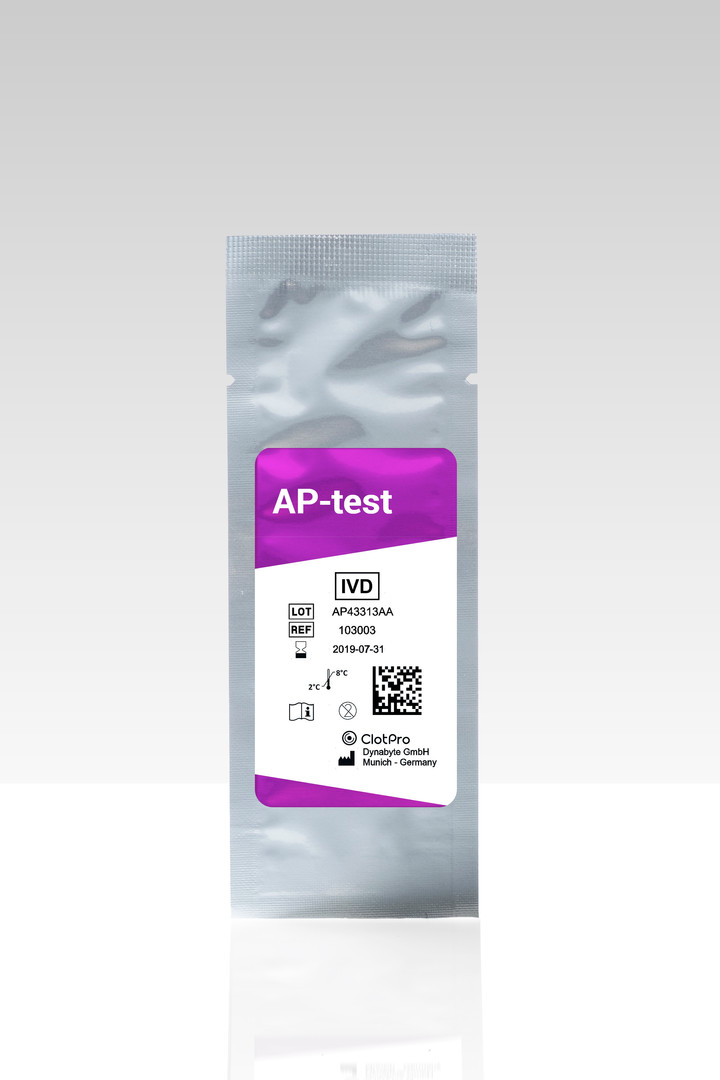 AP-test cartridge