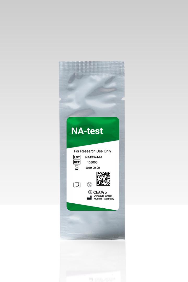NA-test cartridge