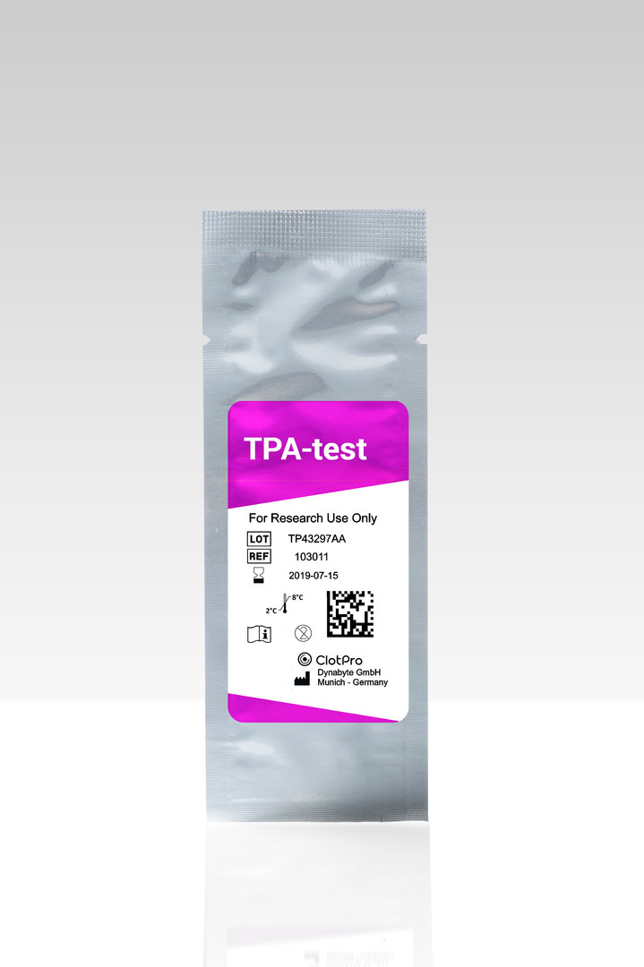TPA-test cartridge