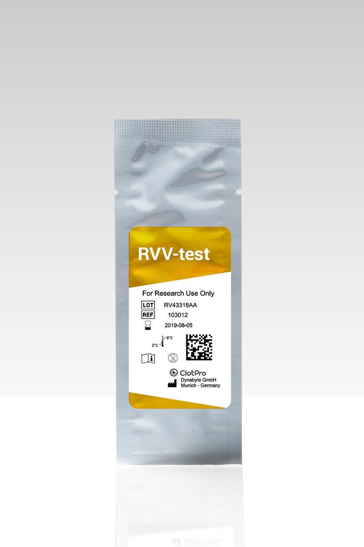 RVV-test cartrdige
