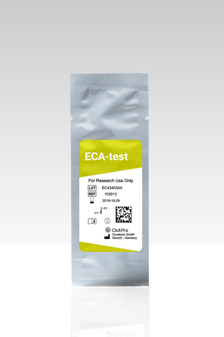 ECA-test cartridge