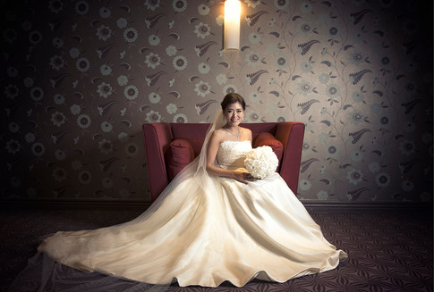 beautiful bride at The Brehon hotel in Killarney on her wedding day