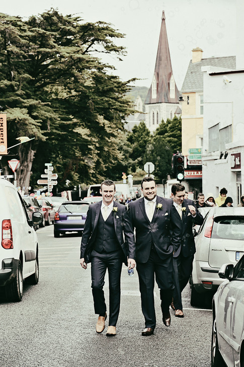 A wedding in Kenmare, Co Kerry.