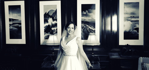 Bride at Balklygarry House hotel in Tralee by Clearys