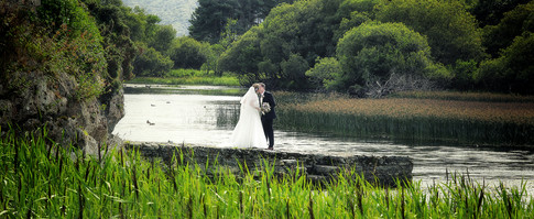 Lakes of Killarney wedding photograph