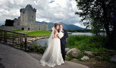 Wedding photography in Killarney by Clearys