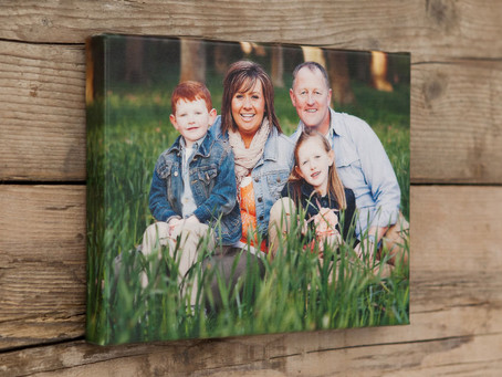 The perfect family portrait gift