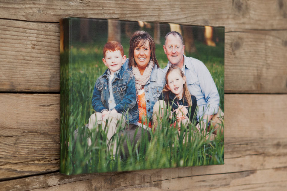 family photo gift voucher