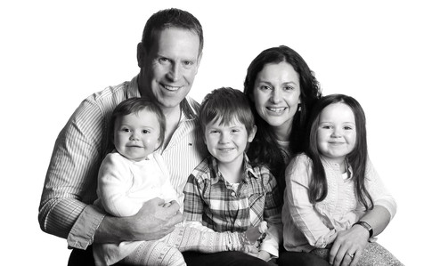 family portrait by clearys in tralee