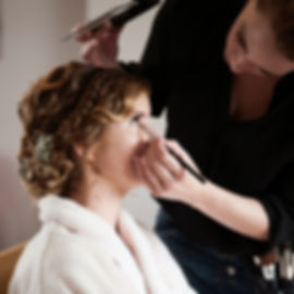BRUIDSMAKE-UP EN KAPSEL