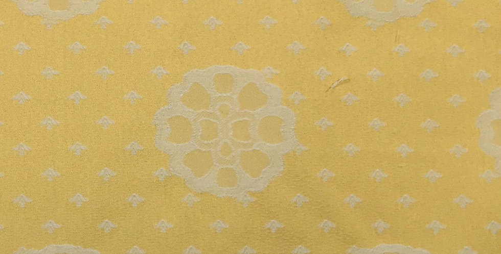 Yellow Floral Medallion