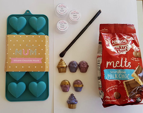 Chocolate Decorating Kit - Hearts
