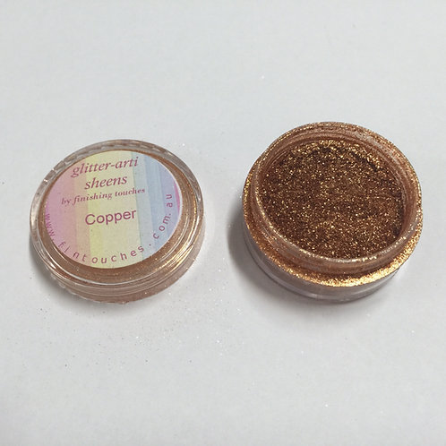 Glitter-Arti Sheen Copper