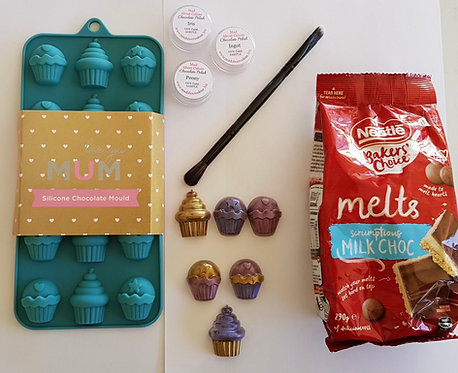 Chocolate Decorating Kit - Cupcakes