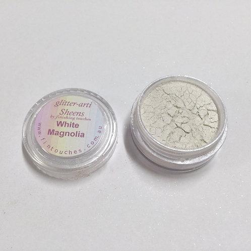 Glitter-Arti Sheen White Magnolia