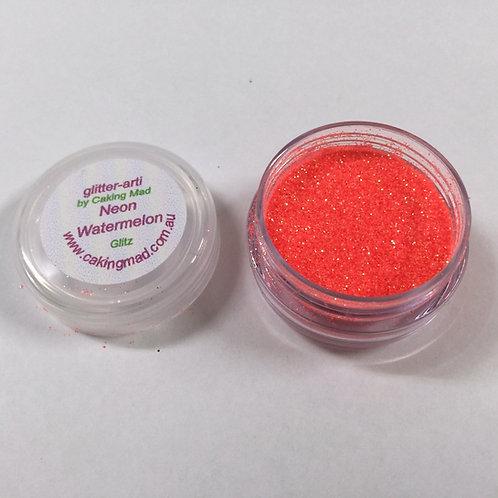 Glitter-Arti Glitz Neon Watermelon