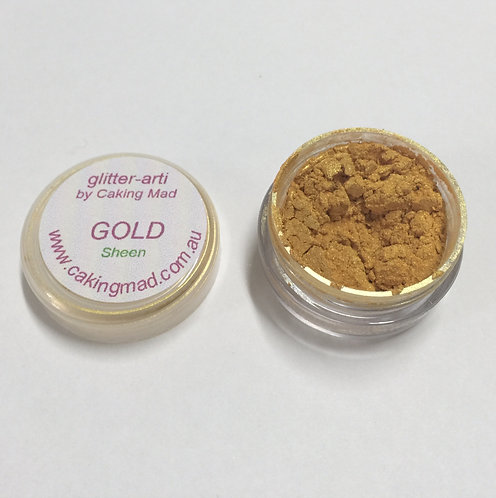 Glitter-Arti Sheen Gold