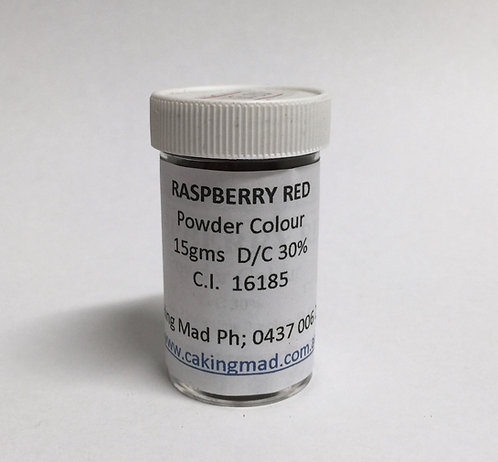 Raspberry Red Powder Colour