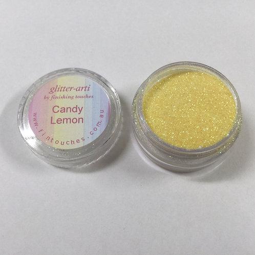 Glitter-Arti Glitz Candy Lemon