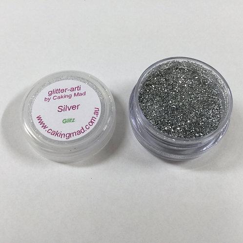 Glitter-Arti Glitz Silver