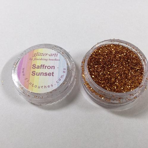 Glitter-Arti Glitz Saffron Sunset