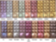 Mad About Colour Chocolate Polish Colour Chart