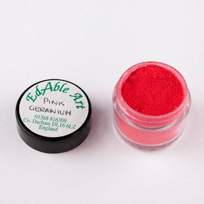 EdAble Art Pink Geranium BT Petal Dust