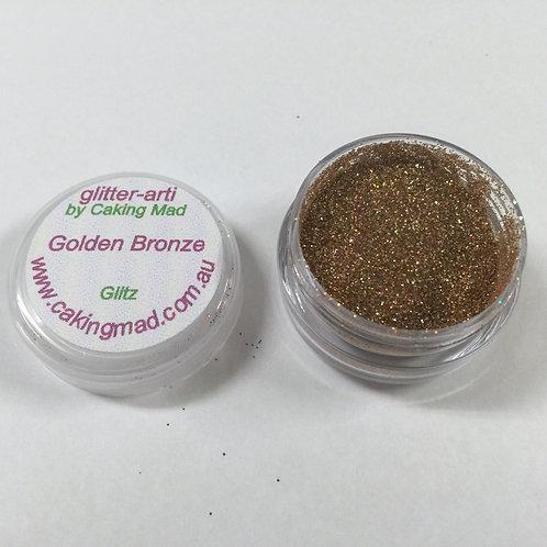 Glitter-Arti Glitz Golden Bronze