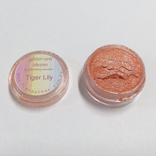 Glitter-Arti Sheen Tiger Lily