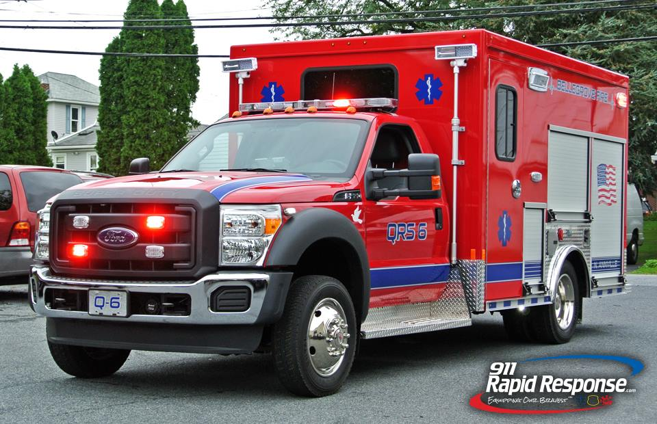 2015 Ford F550 Certified QRS
