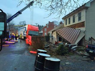 Accident Involving Tractor Trailer