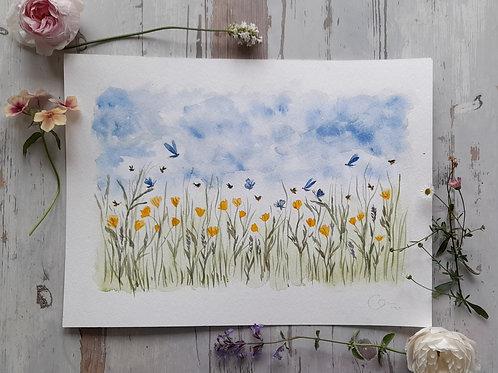 Ellie Green Original Painting