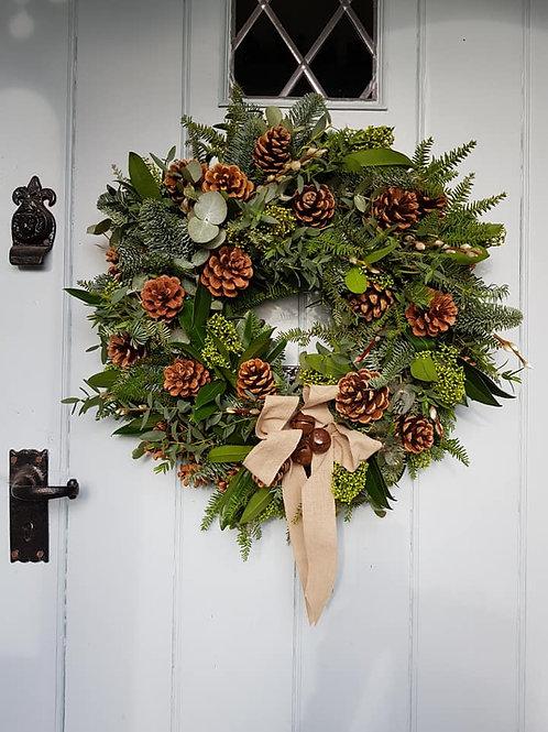 Winter Foliage & Fruits Wreath
