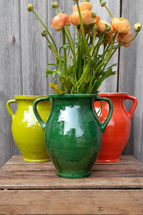 Hand Thrown Pottery Jugs