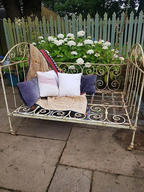 Old Wrought Iron Bed
