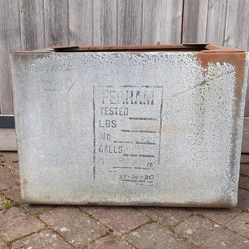 Old Water Tank Planter