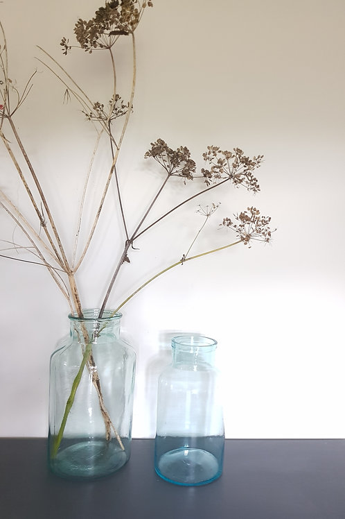 Glass Jar Vase