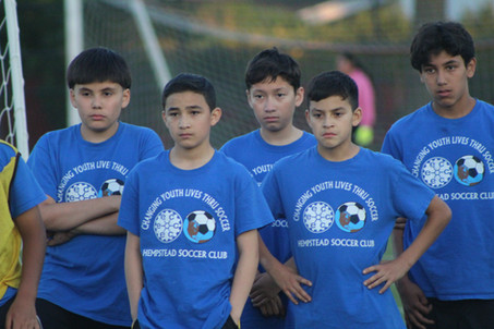 HEMPSTEAD EOC YOUTH SOCCER PROGRAM,      CHANGING YOUTH LIFE THRU SOCCER