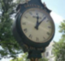Clock in Greenwich, CT