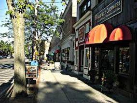 Street in Fairfield, CT