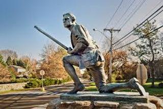 Statue in Westport, CT