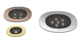 A-Round Recessed Projector
