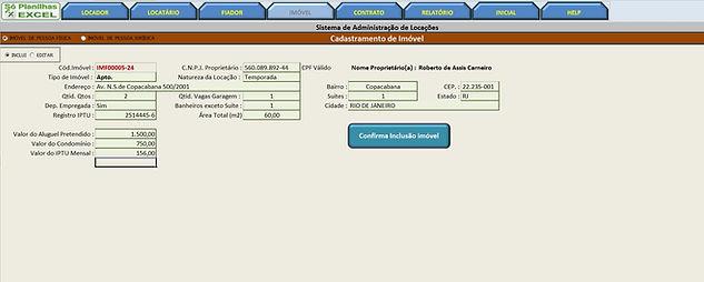 Só Planilhas Excel - Planilhas Prontas, Administração de Imóveis, Locação